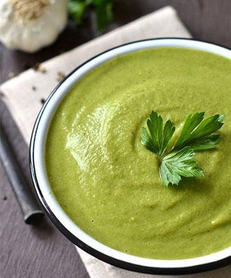 broccoli soup cream