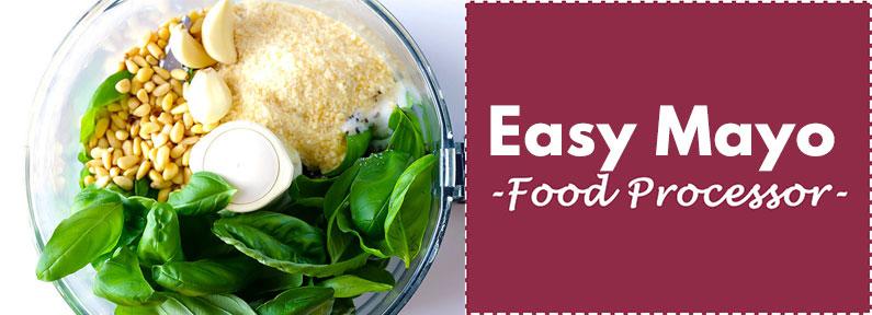 Easy Mayonnaise Recipe Food Processor