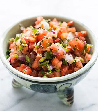 fresh salsa food processor