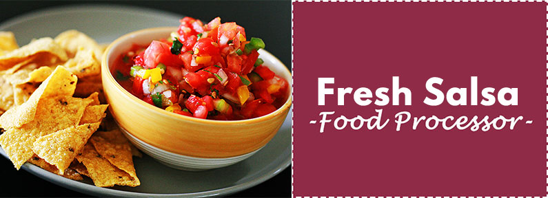 Fresh Salsa Recipe Food Processor