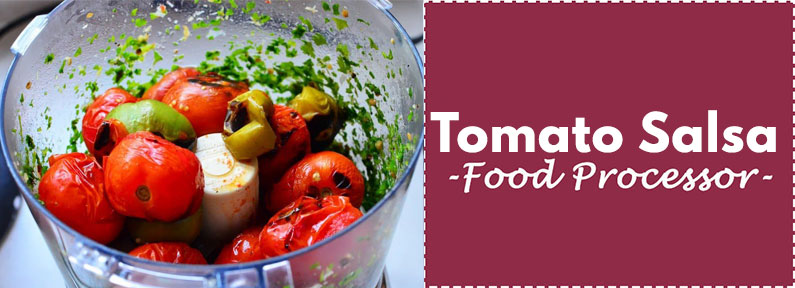 Fresh Tomato Salsa Recipe Food Processor