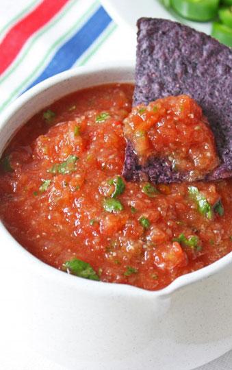fresh tomato salsa